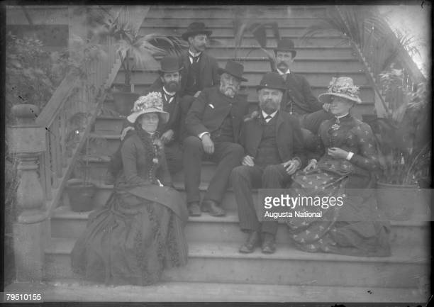 Berckmans Seated On Steps circa 1900s