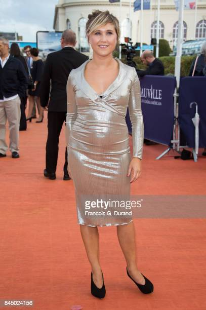 Berengere Krief arrives at the closing ceremony of the 43rd Deauville American Film Festival on September 9 2017 in Deauville France