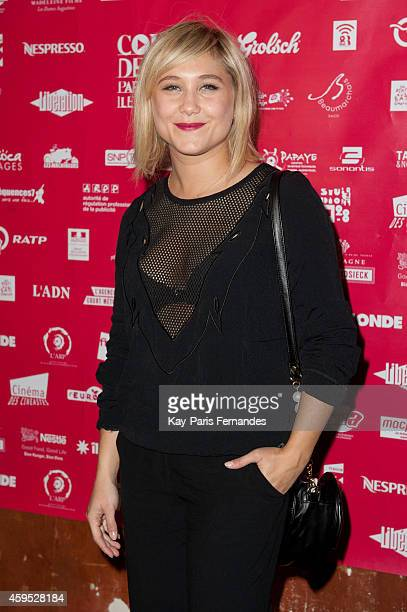 Berengere Krief attends the 'Courts Devant ' 10th Anniversary of Short Movies Opening Ceremonyat Le Cinema des Cineastes on November 24 2014 in Paris...