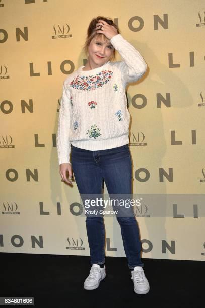 Berengere Krief attends the 'Lion' Paris Premiere at Cinema Gaumont Opera on February 10 2017 in Paris France
