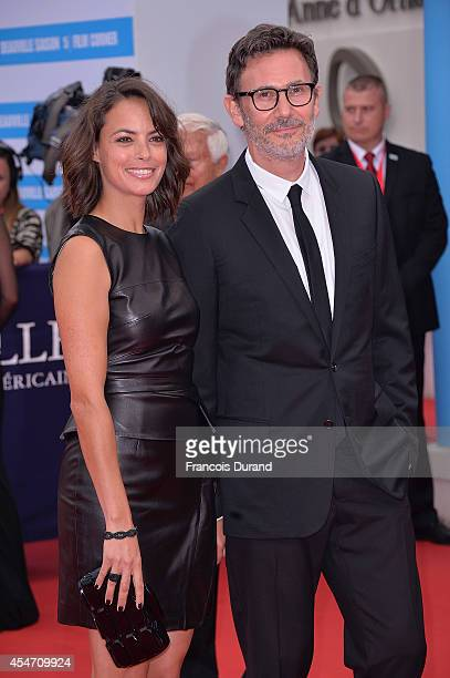 Berenice Bejo and Michel Hazanavicius arrive at the opening ceremony of 40th Deauville American Film Festival on September 5 2014 in Deauville France