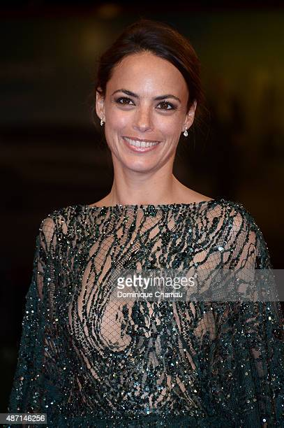 Berenice Bejo attends a premiere for 'El Clan' during the 72nd Venice Film Festival at on September 6 2015 in Venice Italy