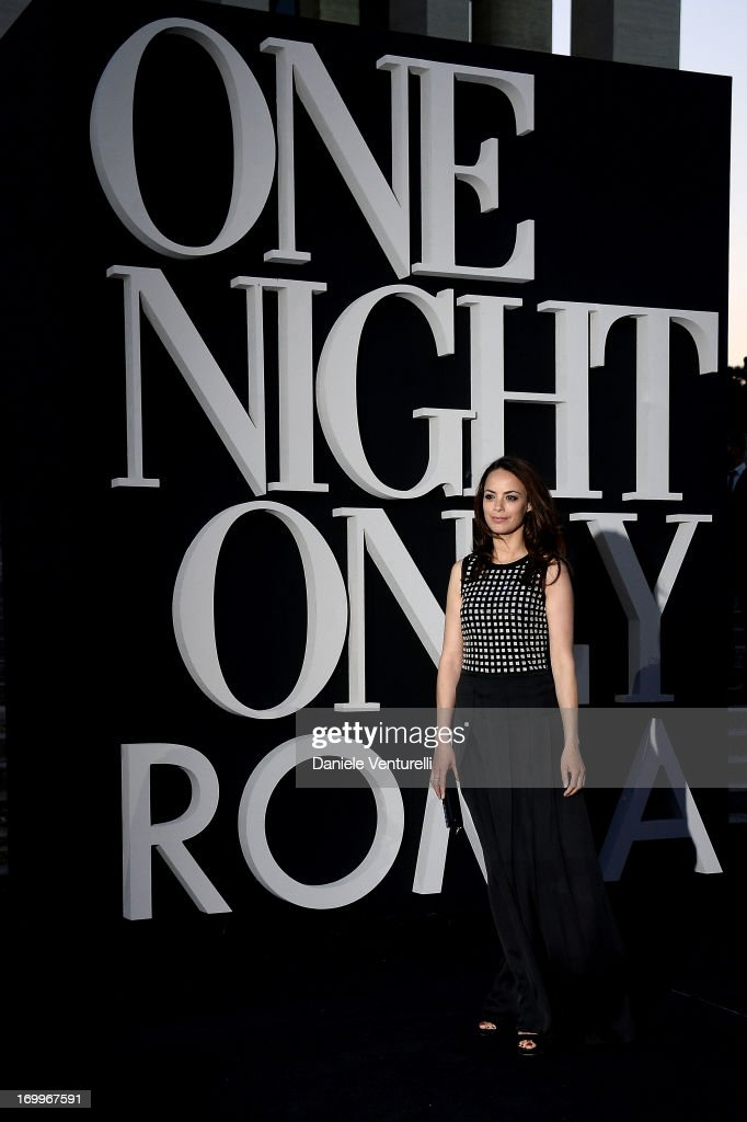 Berenice Bejo attends 'One Night Only' Roma on June 5, 2013 in Rome, Italy.