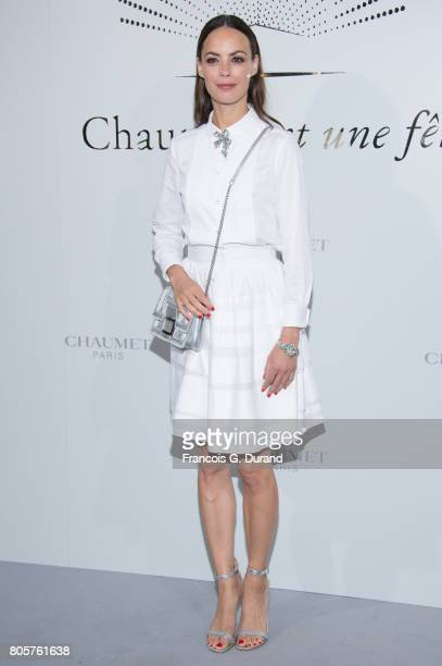 Berenice Bejo attends the 'Chaumet Est Une Fete' Haute Joaillerie Collection Launch as part of Haute Couture Paris Fashion Week on July 2 2017 in...