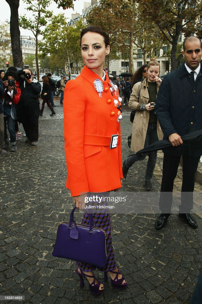 Miu Miu: Outside Arrivals - Paris Fashion Week Womenswear Spring / Summer 2013