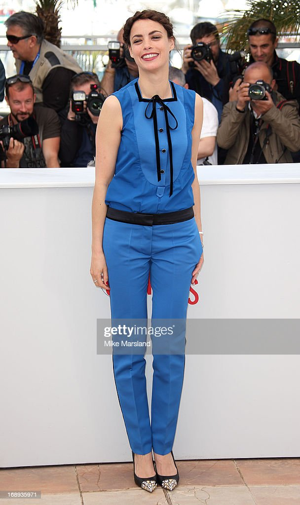 Berenice Bejo attends the photocall for 'Le Passe' (The Past) at The 66th Annual Cannes Film Festival on May 17, 2013 in Cannes, France.