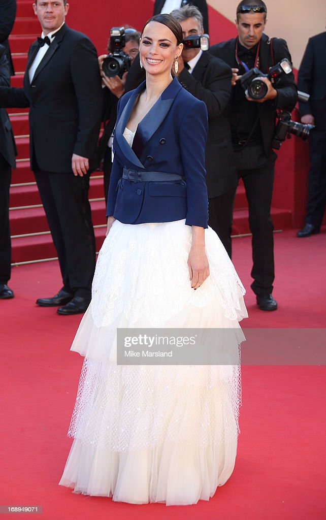 Berenice Bejo attends the Premiere of 'Le Passe' (The Past) at The 66th Annual Cannes Film Festival on May 17, 2013 in Cannes, France.
