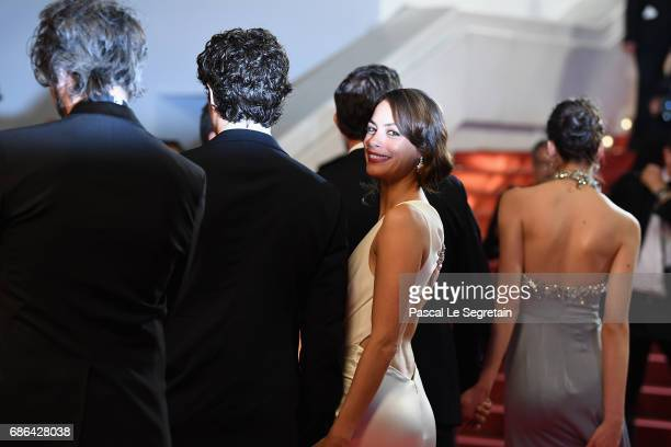 Berenice Bejo attends the 'Redoubtable ' screening during the 70th annual Cannes Film Festival at Palais des Festivals on May 21 2017 in Cannes France