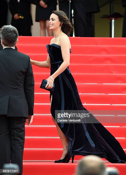 Berenice Bejo attends 'The Search' Premiere at the 67th Annual Cannes Film Festival on May 21 2014 in Cannes France