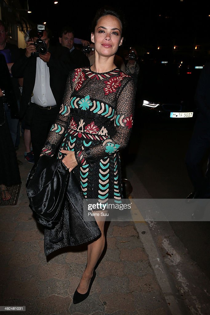 Berenice Bejo attends the Vanity Fair and Chanel dinner on day 7 of the 67th Annual Cannes Film Festival on May 20, 2014 in Cannes, France.