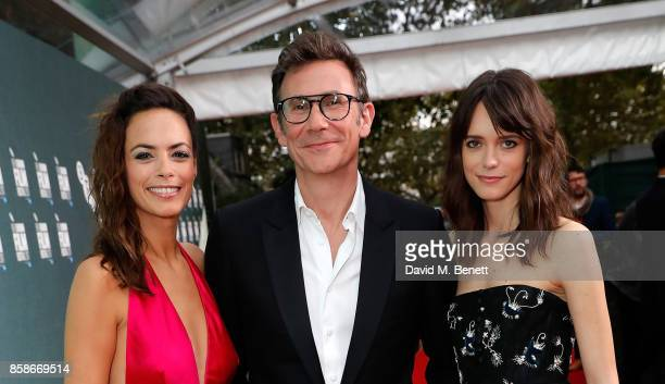 Berenice Bejo Michel Hazanavicius and Stacy Martin attend the Create Gala UK Premiere of 'Redoubtable' during the 61st BFI London Film Festival at...