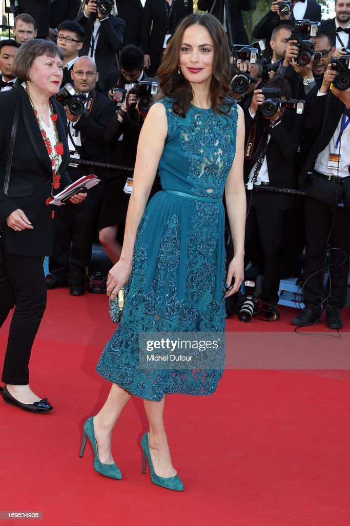 Berenice Bejon attends the 'Zulu' Premiere and Closing Ceremony during the 66th Annual Cannes Film Festival at the Palais des Festival on May 26, 2013 in Cannes, France.