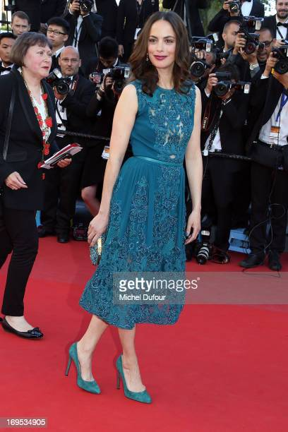 Berenice Bejon attends the 'Zulu' Premiere and Closing Ceremony during the 66th Annual Cannes Film Festival at the Palais des Festival on May 26 2013...