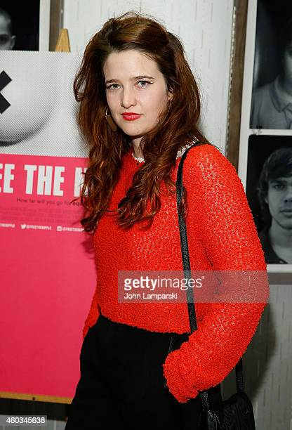Berenice Eveno attends 'Free The Nipple' New York Premiere at IFC Center on December 11 2014 in New York City