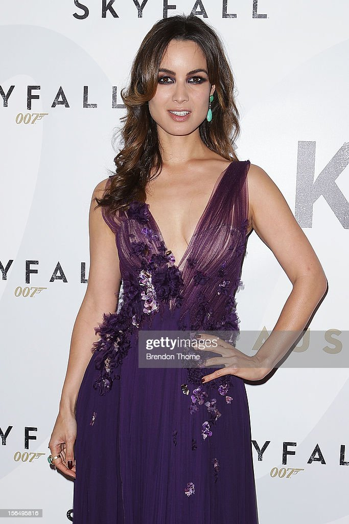 Berenice Marlohe arrives at the 'Skyfall' Australian premiere at the State Theatre on November 16, 2012 in Sydney, Australia.