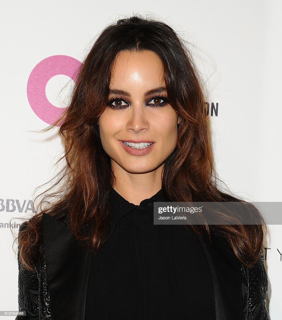 Berenice Marlohe attends the 24th annual Elton John AIDS Foundation's Oscar viewing party on February 28 2016 in West Hollywood California