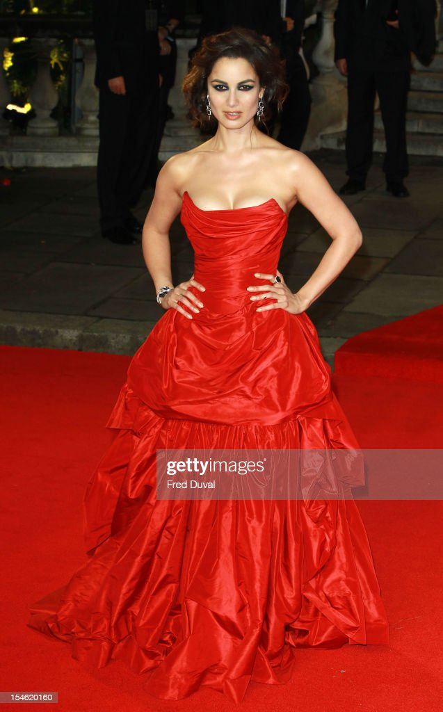 Berenice Marlohe attends the Royal World Premiere of 'Skyfall' at Royal Albert Hall on October 23, 2012 in London, England.