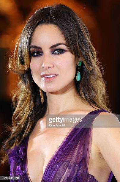 Berenice Marlohe poses at the 'Skyfall' Australian Premiere at the State Theatre on November 16 2012 in Sydney Australia