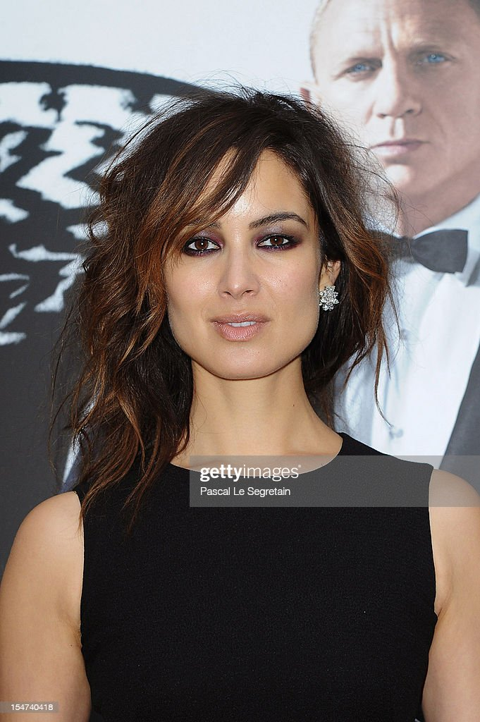 Berenice Marlohe poses during the photocall for the film 'Skyfall' at Hotel George V on October 25, 2012 in Paris, France.