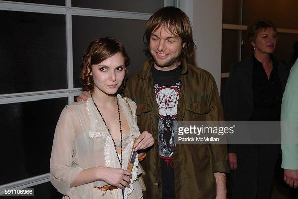 Berg and Mickey Madden attend The Opening Reception of Richard Prince Check Paintings at Gagosian Gallery on February 24 2005 in Beverly Hills...