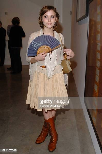 Berg attends The Opening Reception of Richard Prince Check Paintings at Gagosian Gallery on February 24 2005 in Beverly Hills California