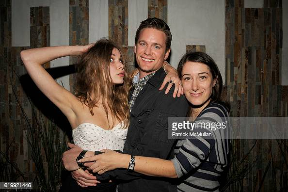 Z Berg guest and Amber Feld attend SHIN Restaurant Opening at Shin on October 13 2008 in Hollywood CA