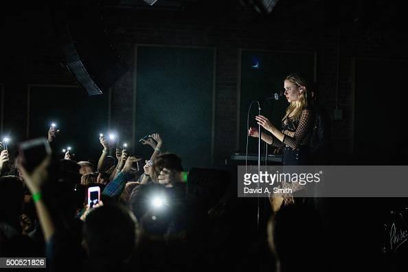 Berg of PHASES performs at Saturn Birmingham on December 8 2015 in Birmingham Alabama