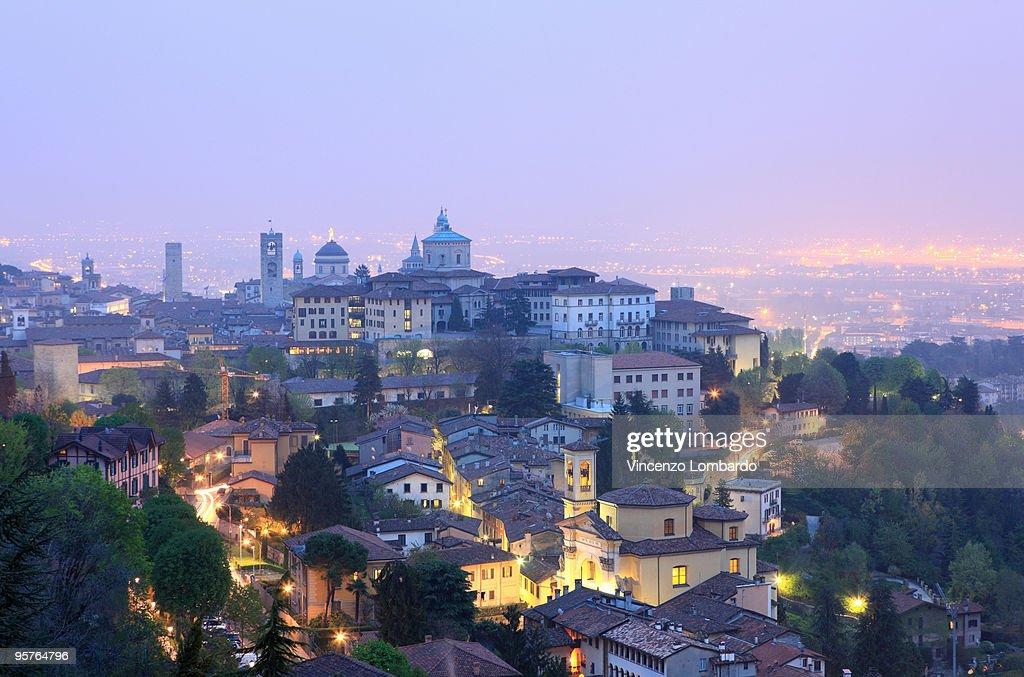 Bergamo Alta Cityscape : Stock Photo