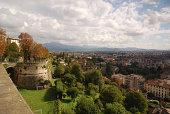 Bergamo panorama from Cittá Alta