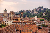 Bergamo skyline, Lombardy, Italy