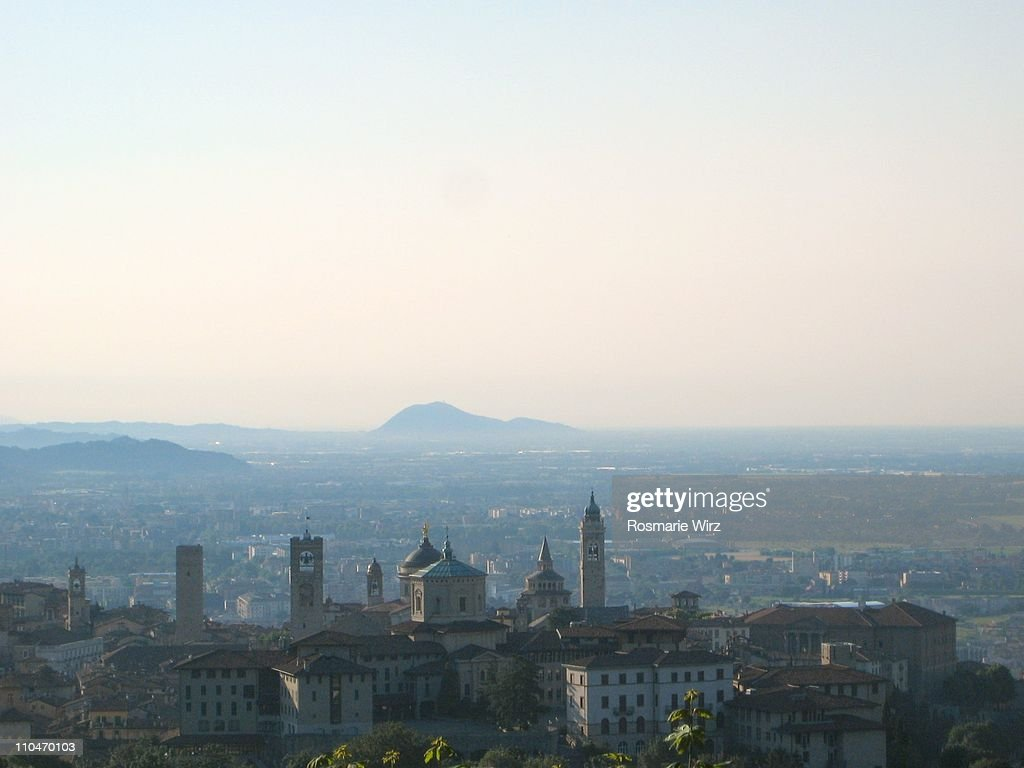 Bergamo skyline