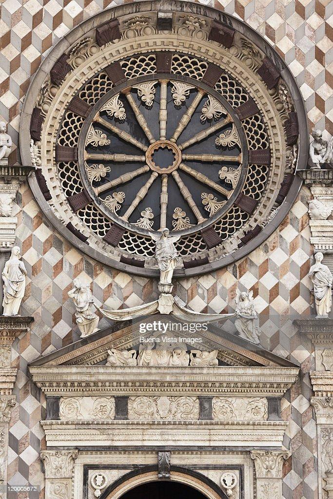 Bergamo. The Colleoni Chapel. : Stock Photo