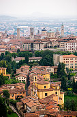 Bergamo Upper Town, Lombardy, Italy