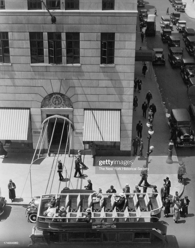Bergdorf Goodman 58th Street and Fifth Avenue New York New York 1920s