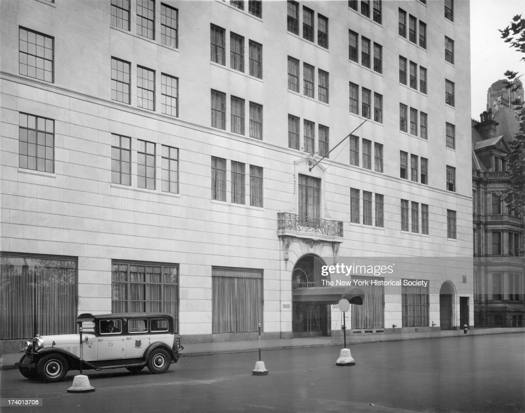 Bergdorf Goodman 58th Street south side at Fifth Avenue New York New York 1920s
