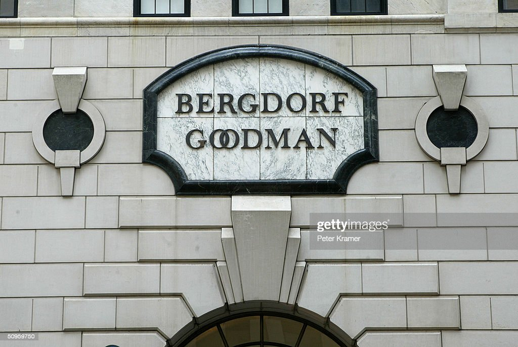 Bergdorf Goodman Department Store on Fifth Ave June 14 2004 in New York City