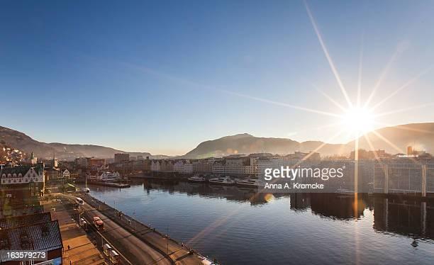 Bergen at morning