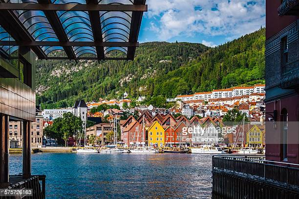 Bergen, houses of Bryggen,Norway