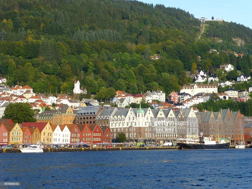 Bergen,  in Norway : Stock Photo
