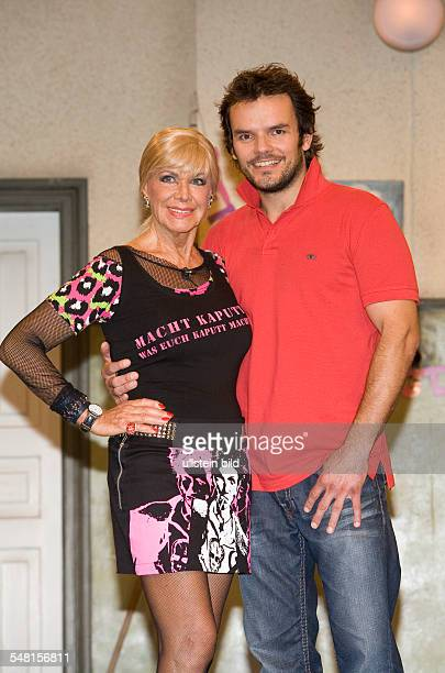 Bergen Ingrid van Actress Germany with actor Steffen Henssler