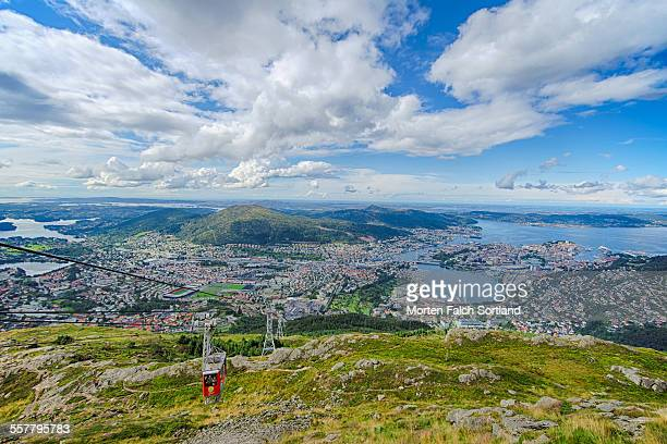 Bergen, Norway and Cable Cars
