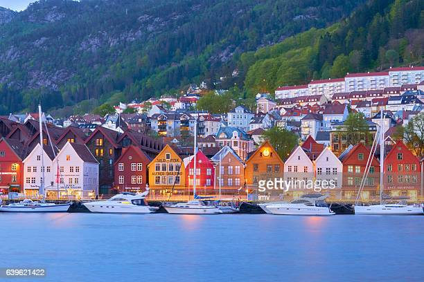 Bergen's port timber houses