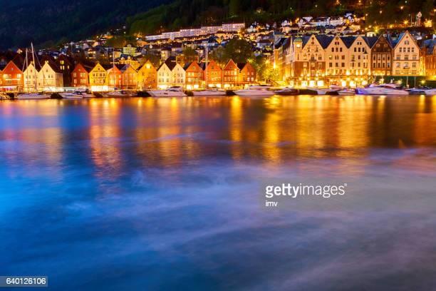 Bergen's port timber houses