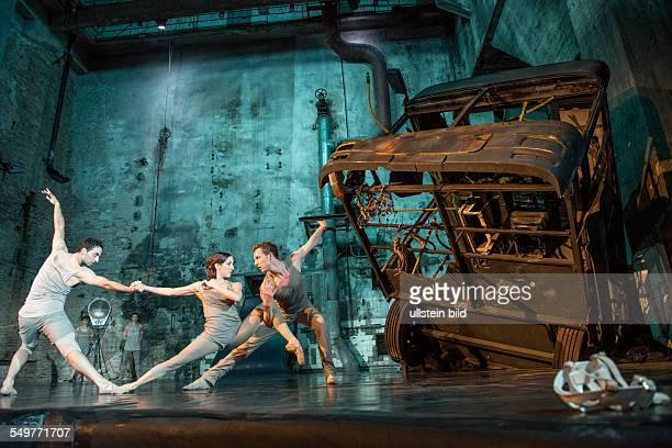 performance of 'Masse' by the Berlin state ballet Choreography Nadia Saidakova Xenia Wiest Tim Plegge Music Henrik Schwarz Marcel Dettmann Frank...