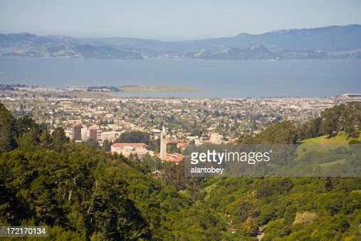 Berkeley California: Desde East Bay Hills