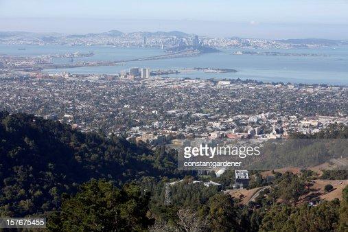 Berkeley, de San Francisco y de la Bahía Este de la mañana