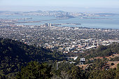 Berkeley, San Francisco And East Bay In The Morning