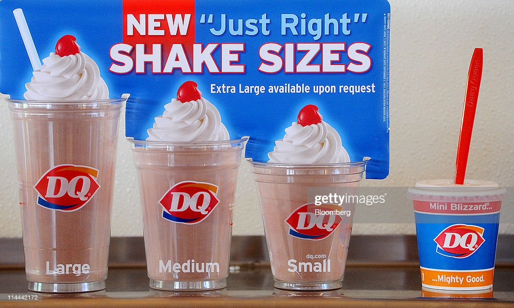 Mini-Size Trend's Tiny Treats Bulk Up Dairy Queen's Bottom ...