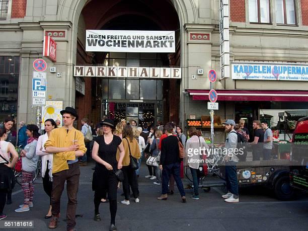 Berlin Markthalle 9 in der Kreuzberger Eisenbahnstrasse