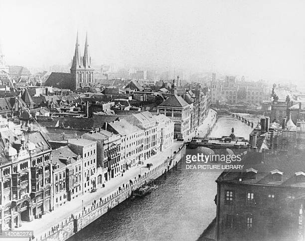 Berlin 3rd February 1943 before the bombing of 1st March Germany 20th Century